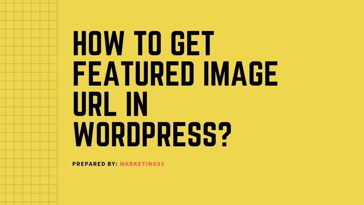 Featured Image URL in WordPress - 4