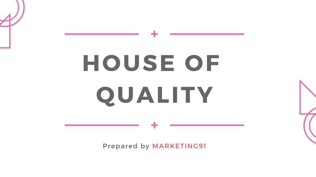 What is House of Quality? Concept of House of Quality