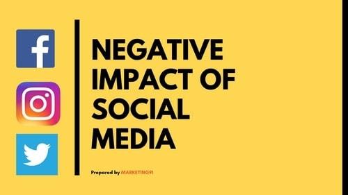 Negative impact of Social Media - 2