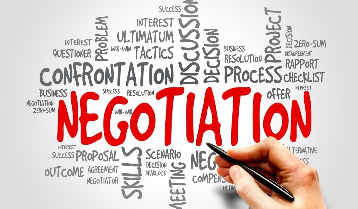 6 Steps in Negotiation which occur in the Negotiation Process