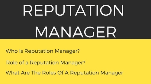 Reputation Manager - 1