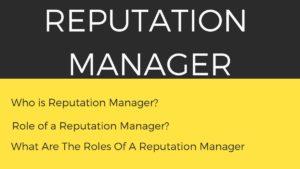 Reputation Manager - 3