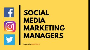 Social Media Marketing Managers - 3