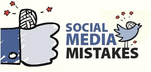 Social Media Mistakes - 1