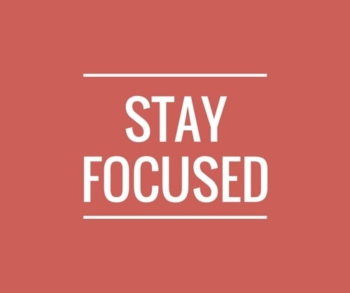 Stay Focused - 1