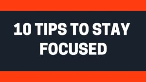 Stay Focused - 2