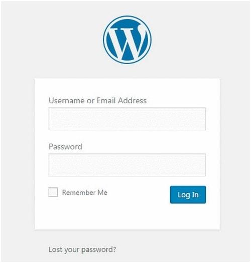 WordPress Admin URL - 4