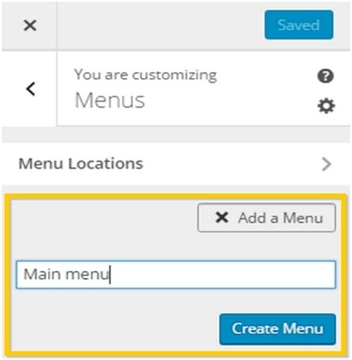 WordPress Customizer - 2