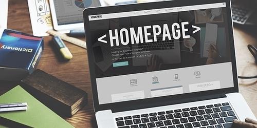 WordPress Homepage - 1