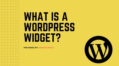 WordPress Widget - 2