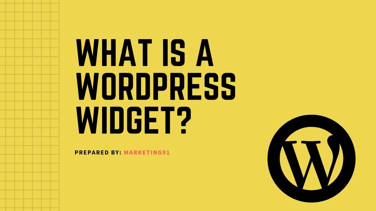 WordPress Widget - 3