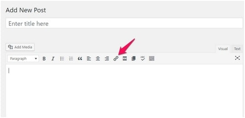 add Links to WordPress Blog - 1