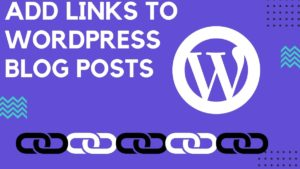add Links to WordPress Blog - 7