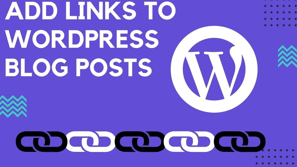add Links to WordPress Blog - 7