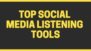 social media listening tools - 11