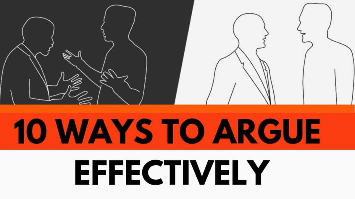 Argue Effectively - 4