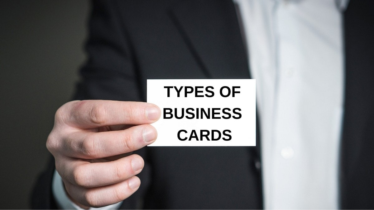 Types of Business Cards - 4