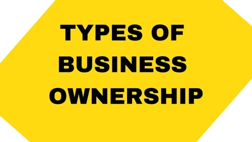 Types of Business Ownership - 1
