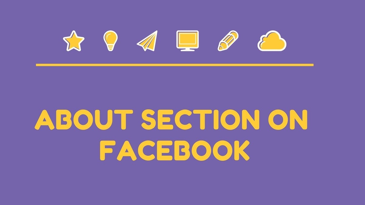 About section on Facebook - 10
