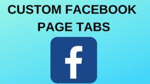 Custom Facebook Page Tabs - 7