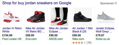 Google Shopping Ads - Types of Google Ads 2