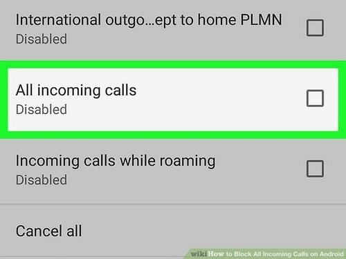 How To Block Incoming Calls - 2