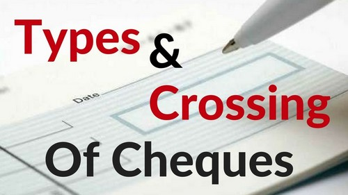 Types of Cheques - 2