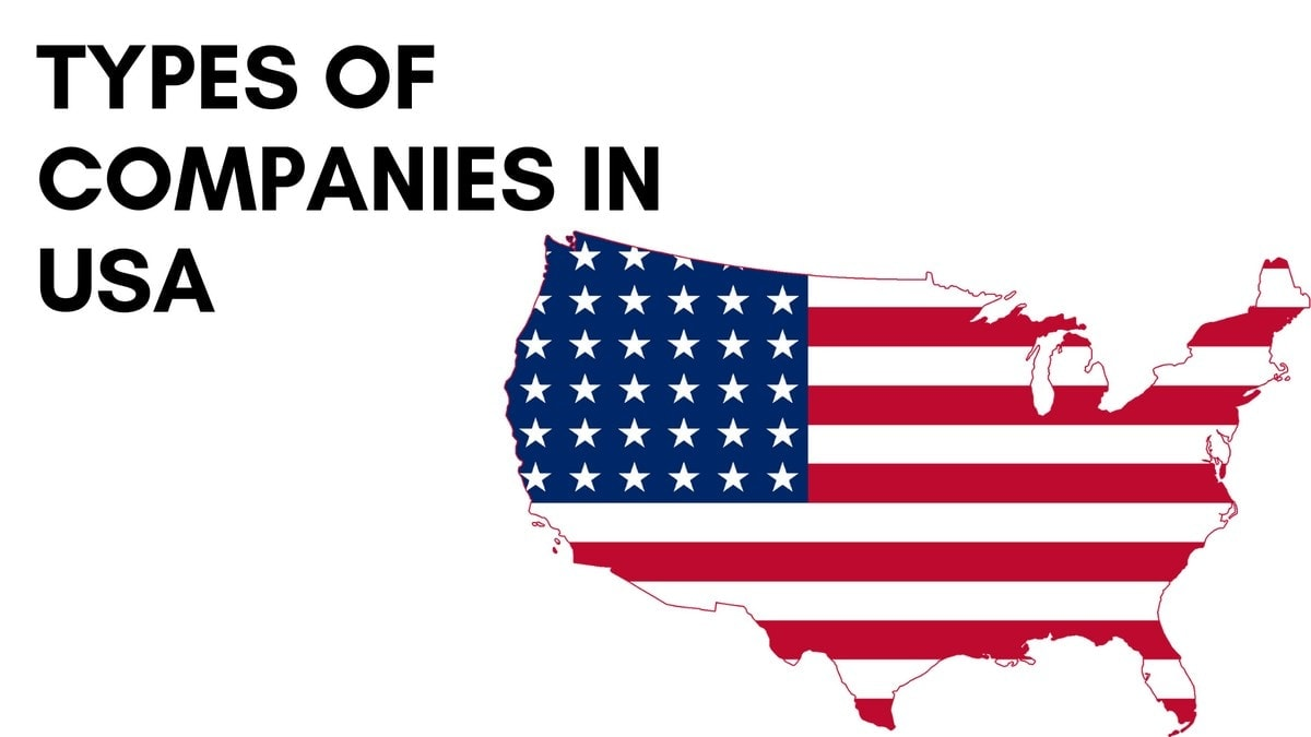 Types of Companies in the US - 5