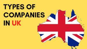 Types of UK companies