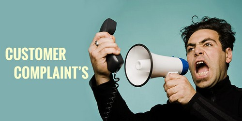 Types of customer complaints - 1