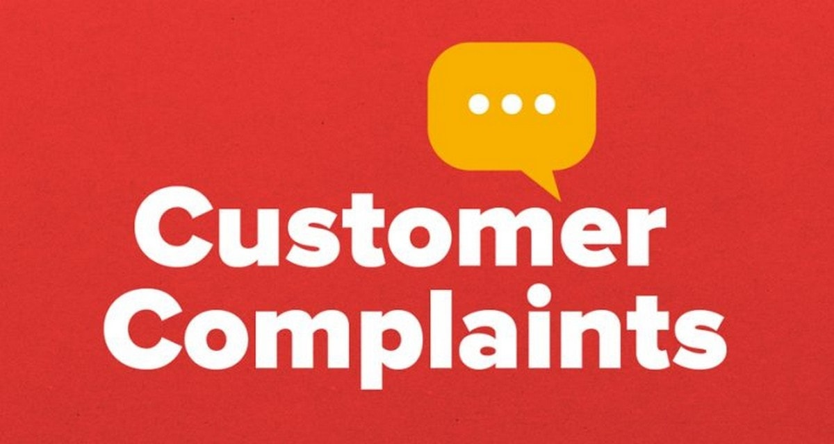 Types of customer complaints - 5