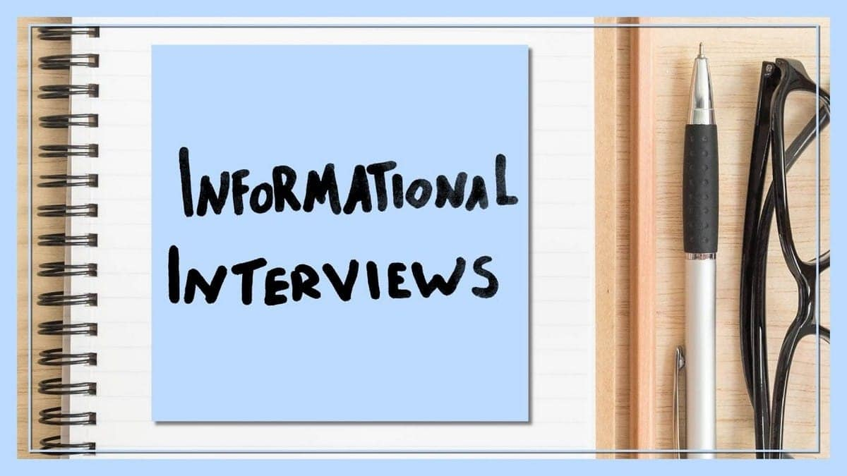 ask for an informational interview - 5