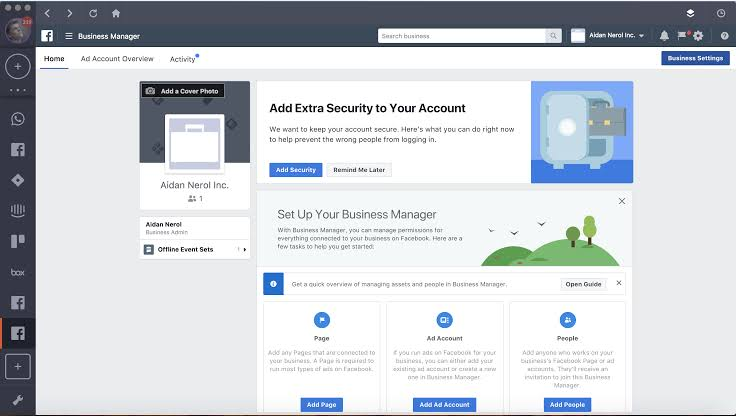 Manage your Facebook Page