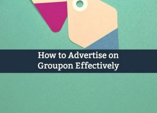 Advertise on Groupon - 2
