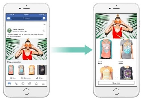 Facebook Collection Ads for E-commerce - 3