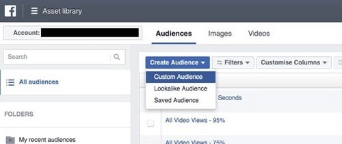 Facebook Page Engagement Custom Audience - 4
