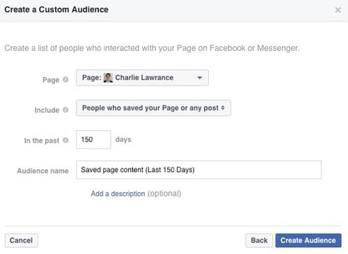 Facebook Page Engagement Custom Audience - 6