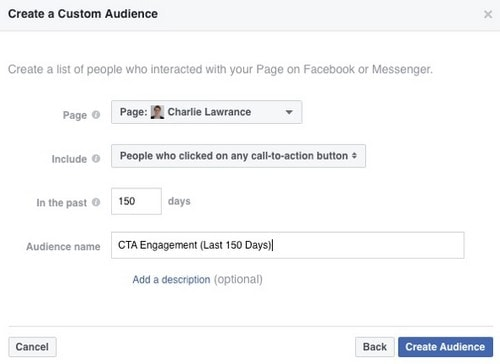 Facebook Page Engagement Custom Audience - 7