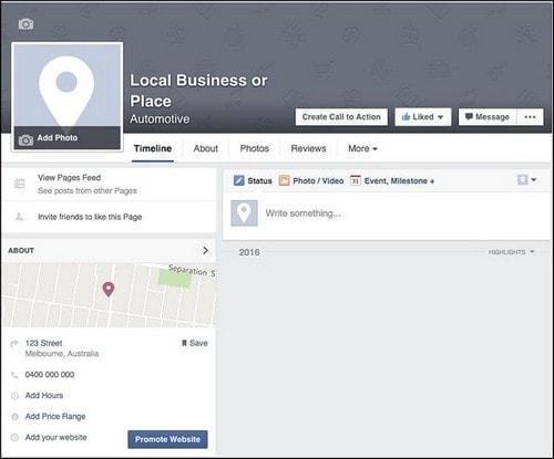 Facebook Page Navigation - 3