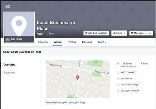 Facebook Page Navigation - 4