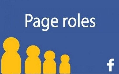Facebook Page Roles - 2