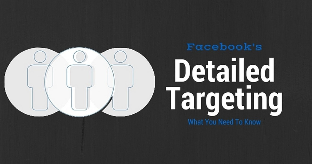 Facebook detailed targeting - 1