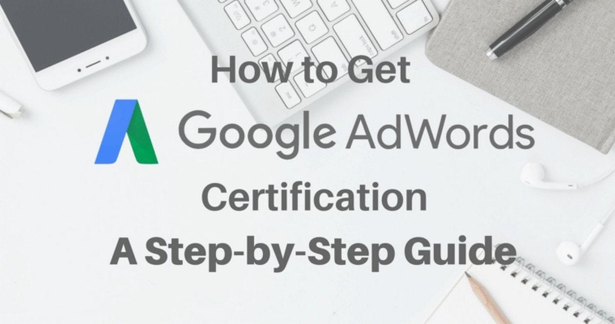 Get AdWords certified - 1