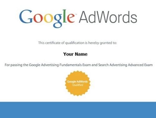 Get AdWords certified - 4