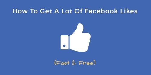 Get Likes On Facebook - 3