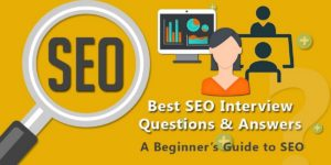 SEO Interview Questions - 1