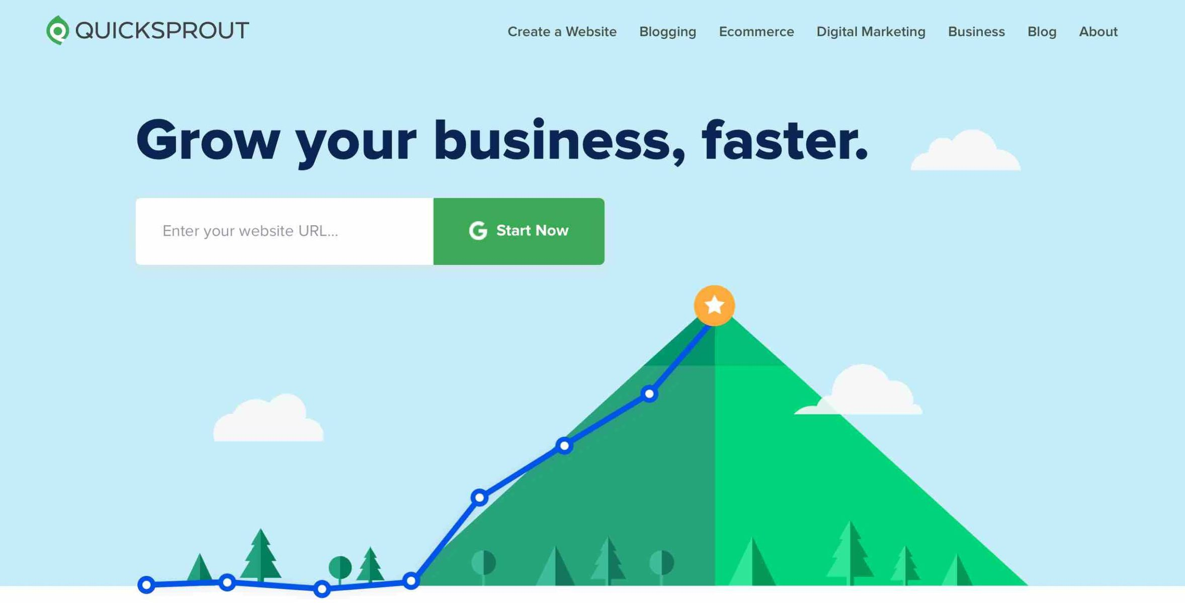 Grow your business, faster with Quicksprout Competitor Analysis Tool