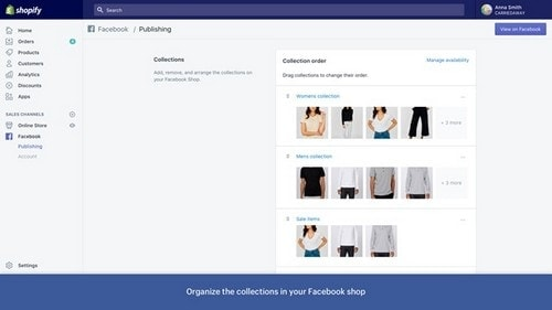 create Facebook page for ecommerce - 4