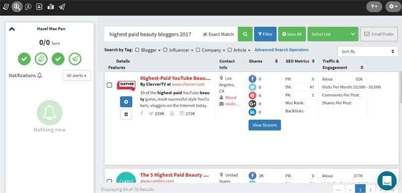 The smartest influencer marketing & analysis platform
