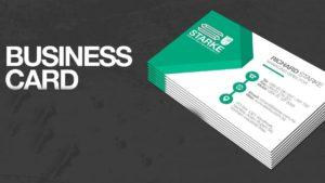 A Business Card - 1